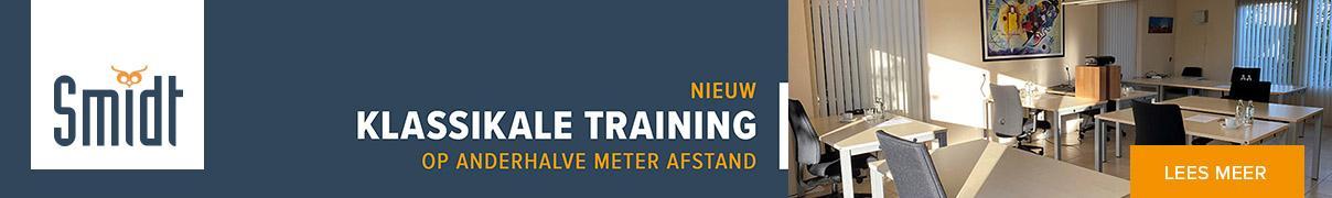 Smidt Kennisprovider Klassikale training op anderhalve meter