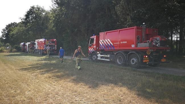 5e2aad6afe9bdf Bosbrand Linieweg Zuidwolde snel bedwongen - DrentsNieuws.nl